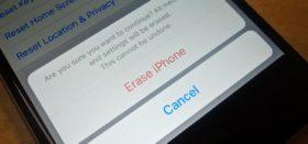 كيفية إعادة تعيين اعدادات المصنع للآيفون وجميع اجهزة الـ iOS