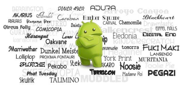 كيفية تغيير خط الجلاكسي أس واغلب هواتف الأندرويد الأخرى